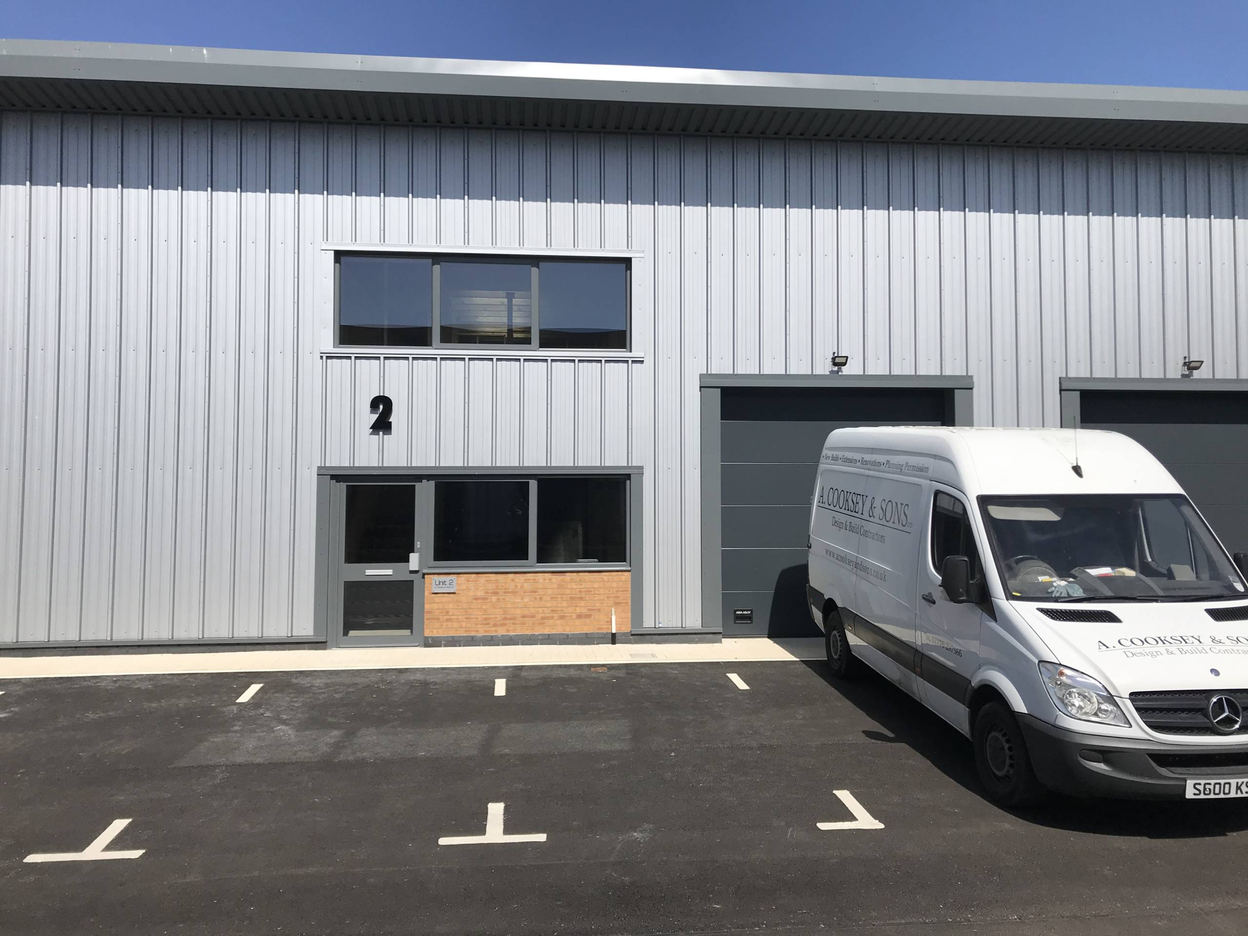 Cooksey Homes New Premises